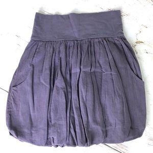 SOLD Free People Bubble Skirt With Pockets